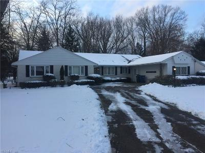 Cleveland Single Family Home Active Under Contract: 3918 N Valley Drive