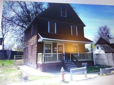 Cleveland Single Family Home For Sale: 3291 East 119th St East