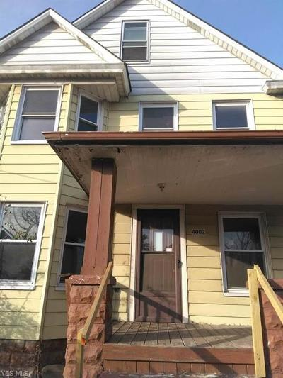 Cleveland Multi Family Home For Sale: 4002 East 58th St