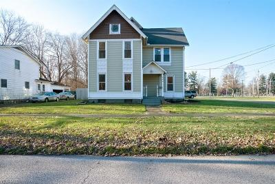 Newton Falls Single Family Home For Sale: 332 North Center St