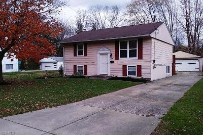 Painesville Single Family Home For Sale: 159 Stage Ave