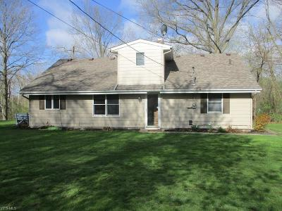 Elyria Single Family Home For Sale: 820 Oberlin Elyria Rd