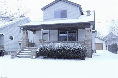 Cleveland Single Family Home For Sale: 5215 Stickney Ave