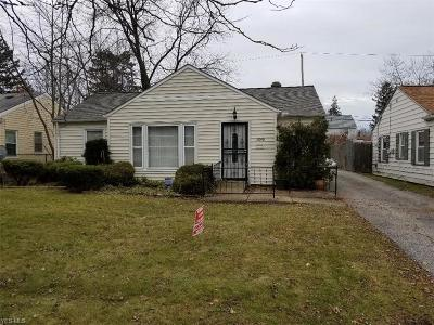 Cleveland Single Family Home For Sale: 3890 Wendy Dr
