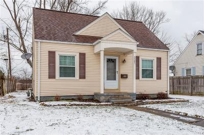 Lorain OH Single Family Home For Sale: $67,000