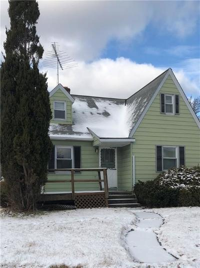 Cleveland OH Single Family Home For Sale: $79,900