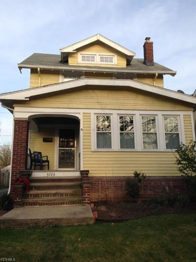 Cleveland OH Single Family Home For Sale: $174,900