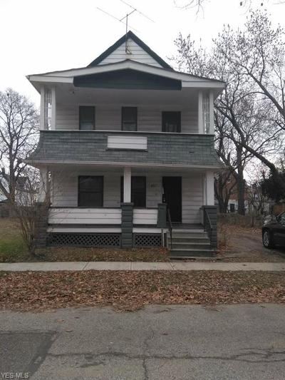 Cuyahoga County Multi Family Home For Sale: 973 Maud Ave