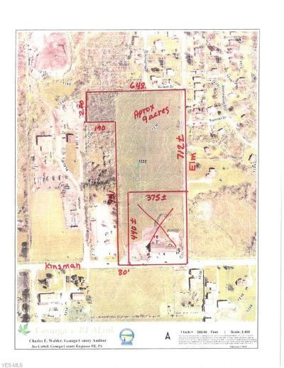 Geauga County Residential Lots & Land For Sale: 11390 Kinsman Rd