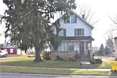 Columbiana Single Family Home For Sale: 117 W Park Avenue