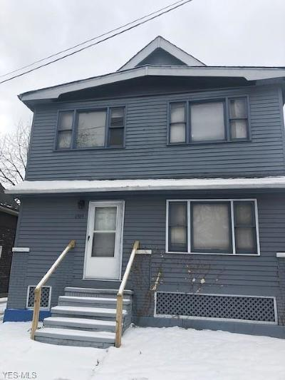 Cuyahoga County Multi Family Home For Sale: 4509 Bush Ave