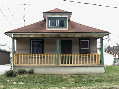 Cambridge OH Single Family Home For Sale: $55,000