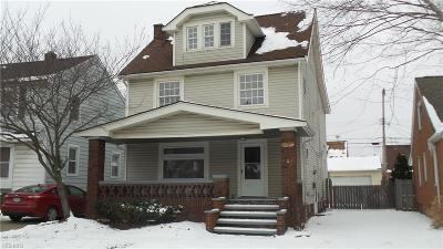 Cuyahoga County Single Family Home For Sale: 4946 East 108th St