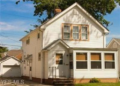 Euclid Single Family Home For Sale: 29 East 221st St