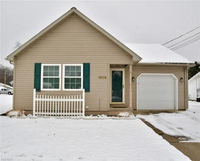 Zanesville OH Single Family Home For Sale: $84,900
