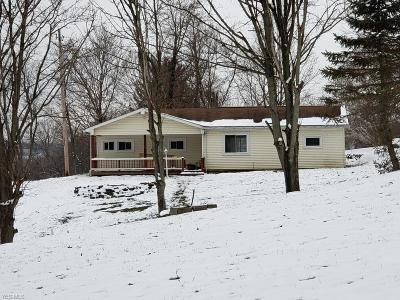 Quaker City OH Single Family Home For Sale: $64,900