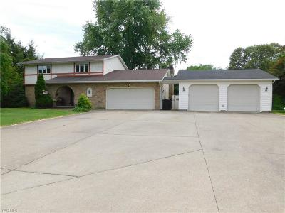 East Liverpool Single Family Home For Sale: 15317 Strader Road