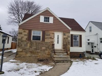 Cuyahoga County Single Family Home For Sale: 6314 Kenneth Ave