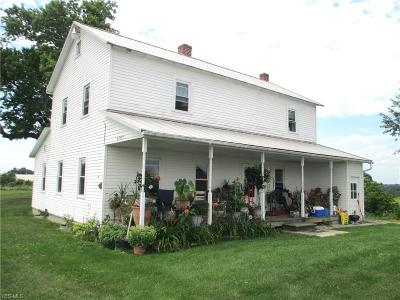 Guernsey County Single Family Home For Sale: 67697 Fairground Rd