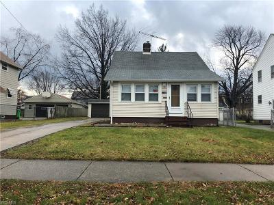 Euclid Single Family Home For Sale: 19350 Locherie Ave