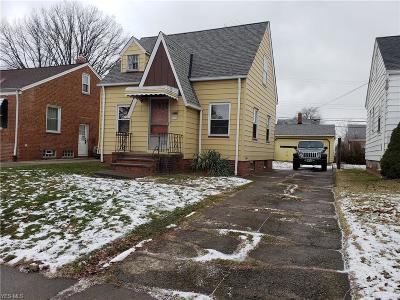Euclid Single Family Home For Sale: 21771 Morris Ave