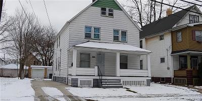Cuyahoga County Multi Family Home For Sale: 3984 East 55th St