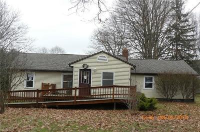 Painesville OH Single Family Home For Sale: $80,500