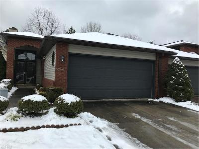Sheffield Village OH Condo/Townhouse For Sale: $144,900
