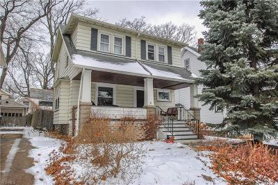 Lakewood Single Family Home For Sale: 1650 Wyandotte Ave