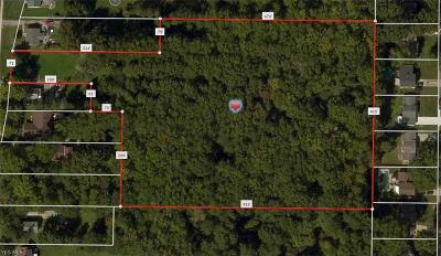 Cuyahoga County Residential Lots & Land For Sale: 6677 Stearns Rd