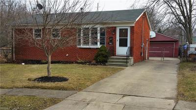 Elyria Single Family Home For Sale: 961 Livermore Ln