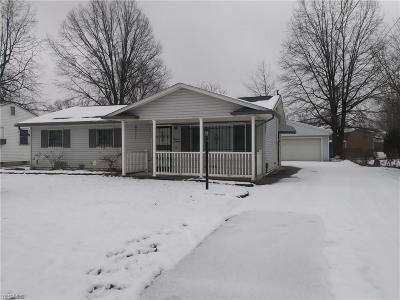 Lorain OH Single Family Home For Sale: $59,500