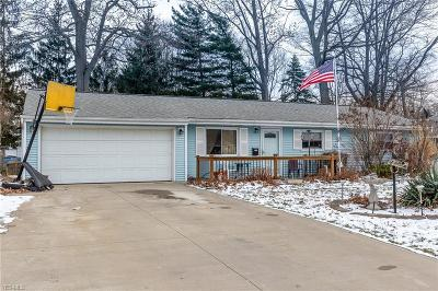 Mentor OH Single Family Home For Sale: $130,000