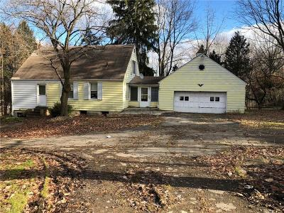 Parma Single Family Home For Sale: 8245 West Pleasant Valley Rd