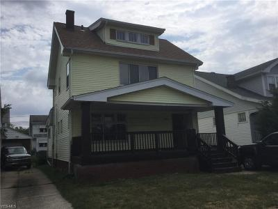 Cuyahoga County Single Family Home For Sale: 4949 East 110th St