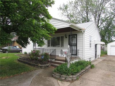Lorain County Single Family Home For Sale: 1214 West 29th St