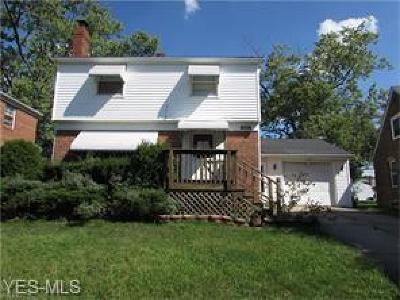 Cuyahoga County Single Family Home For Sale: 5635 South Blvd