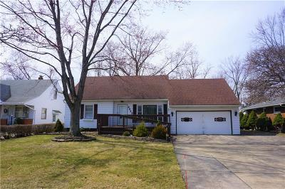 Cleveland Single Family Home For Sale: 6642 Commonwealth Blvd