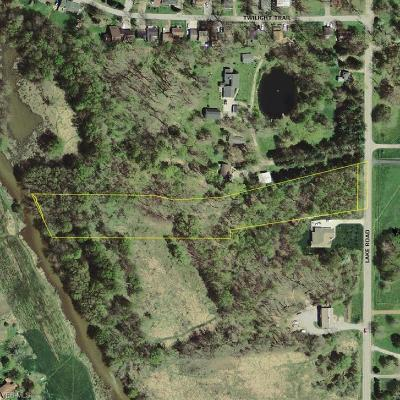 Medina County Residential Lots & Land For Sale: 8020 Lake Rd