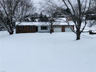 New Lexington OH Single Family Home For Sale: $134,900
