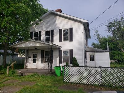 Belpre Single Family Home For Sale: 405 & 405 1/2 Florence St