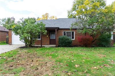 Euclid Single Family Home For Sale: 570 Birch Ave
