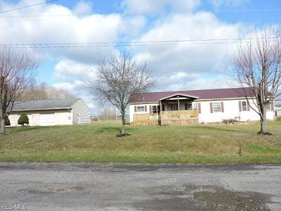 Lisbon OH Single Family Home For Sale: $54,900