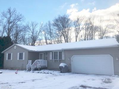 Guernsey County Single Family Home For Sale: 19700 Bridgewater Rd