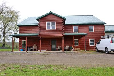 Ashland County Single Family Home For Sale: 73 Township Road 2250