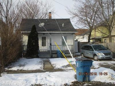 Lorain Single Family Home For Sale: 106 West 31st St