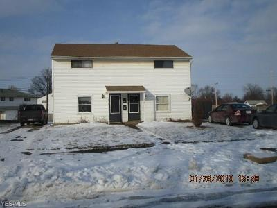 Lorain Multi Family Home For Sale: 3119 Cromwell Dr