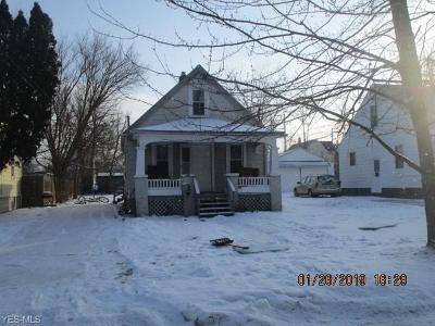 Lorain Single Family Home For Sale: 512 East 33rd St