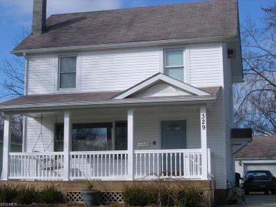 Elyria Single Family Home For Sale: 329 Concord Ave