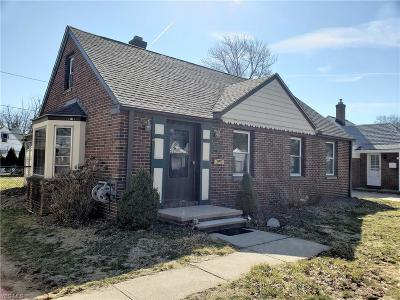 Fairview Park Single Family Home For Sale: 4541 Orchard Rd